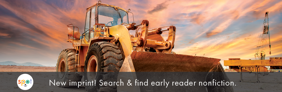 Spot! New Imprint! Search & find early reader nonfiction.